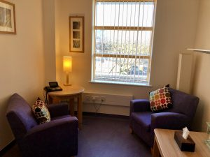 The cancer counselling room